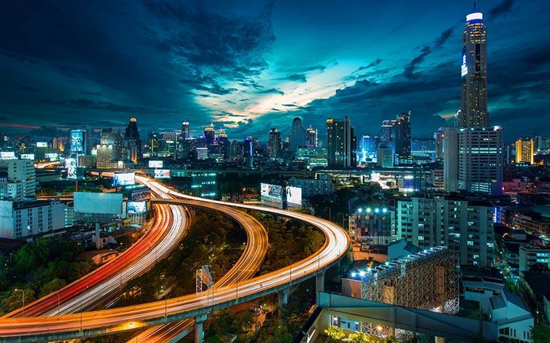 بانکوک در شب