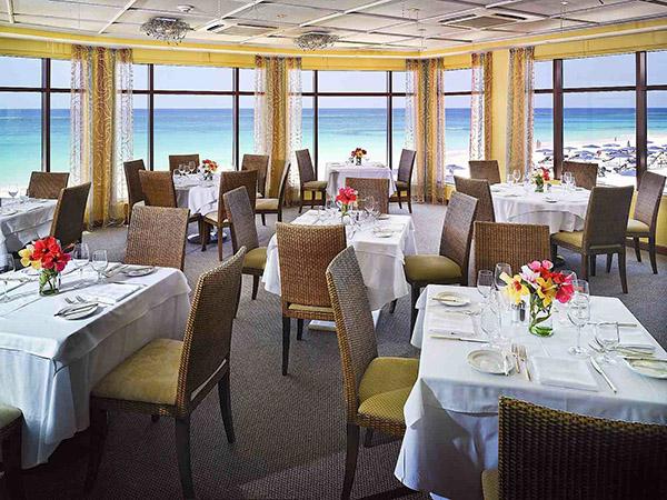 رستورانی گران در برمودا به نام لیدو