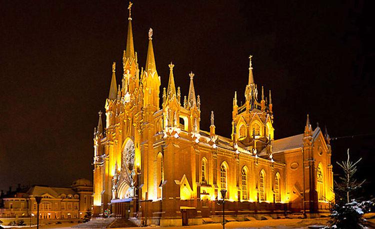 کلیسای کاتولیک مسکو
