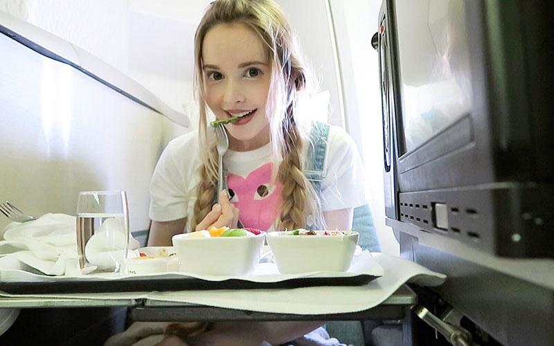 غذا در هواپیما