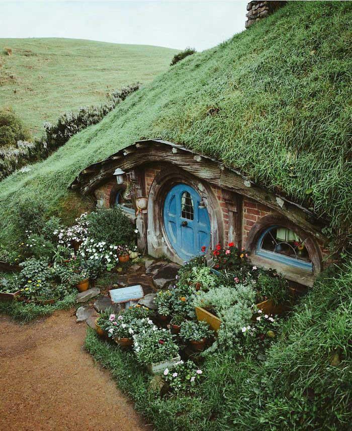 خانه هابیتی در نیوزیلند