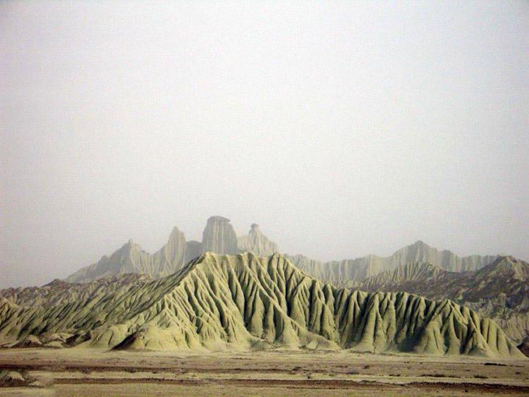 کوه های مریخی در چابهار