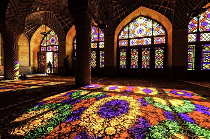 عکس مسجد نصیرالملک شیراز