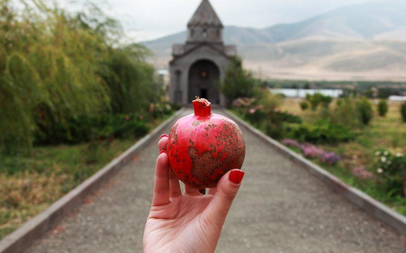 انار نماد ارمنستان