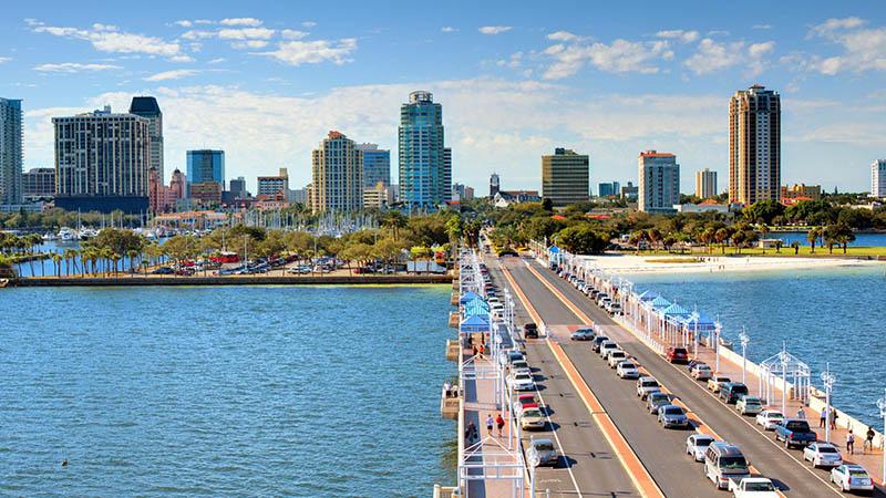 شهر سن پترزبورگ در فلوریدا