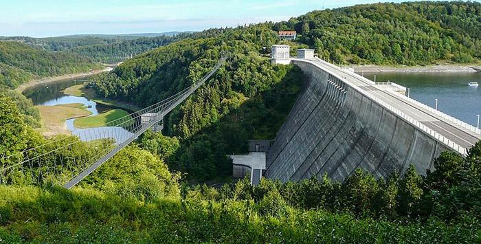 طولانی ترین پل معلق دنیا
