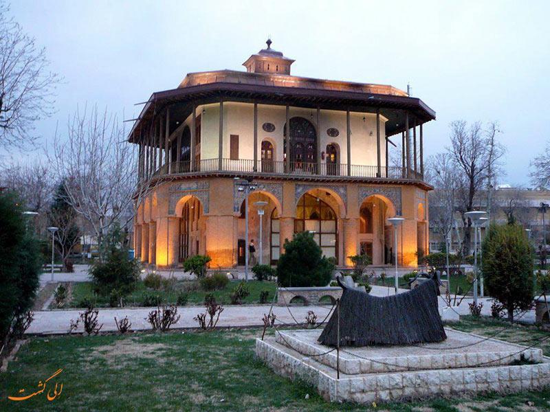 کاخ چهلستون در قزوین