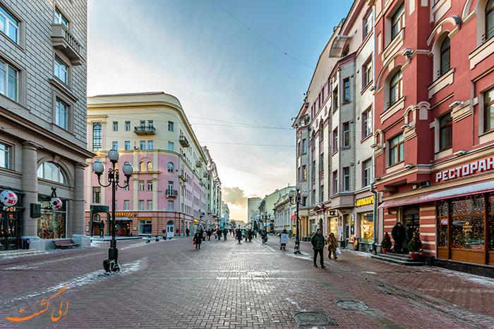 خیابان آربات مسکو