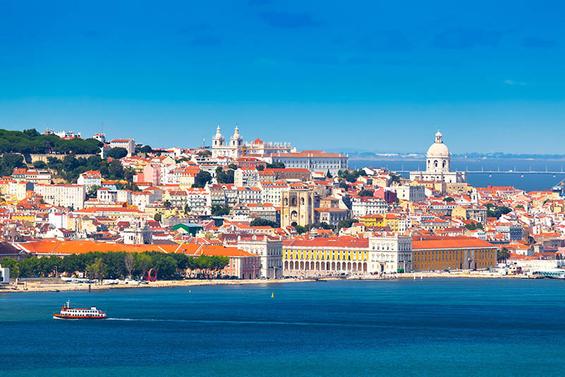 شهر لیسبون در پرتغال