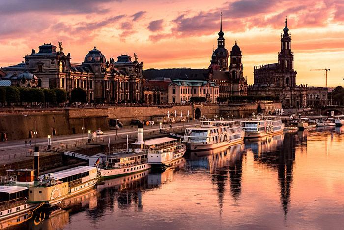 شهر درسدن در آلمان