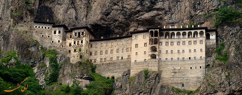 صومعه سوملا ترابزون ترکیه