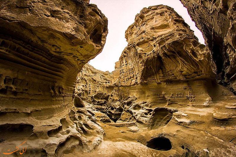 عکس تنگه چاه کوه