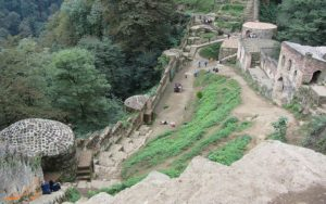 قلعه رودخان از نمای بالا