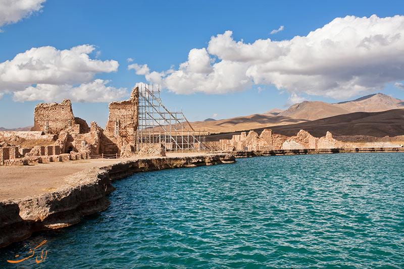 کاخ تخت سلیمان آذربایجان غربی