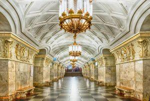 بهترین متروهای جهان   متروی مسکو