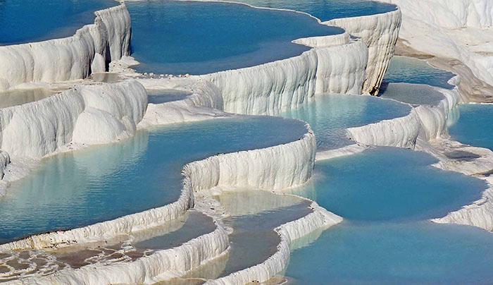 پاموک کاله در ترکیه