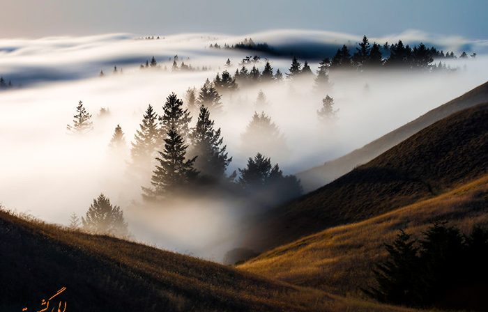 کوه های مارین کالیفرنیا