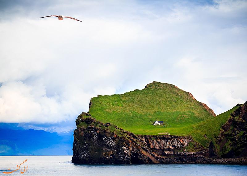 جزیره Elliaey در ایسلند