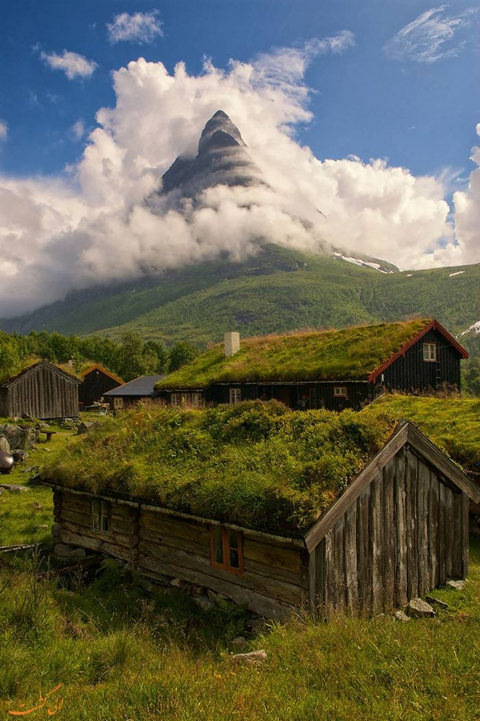 خانه های Renndølsetra