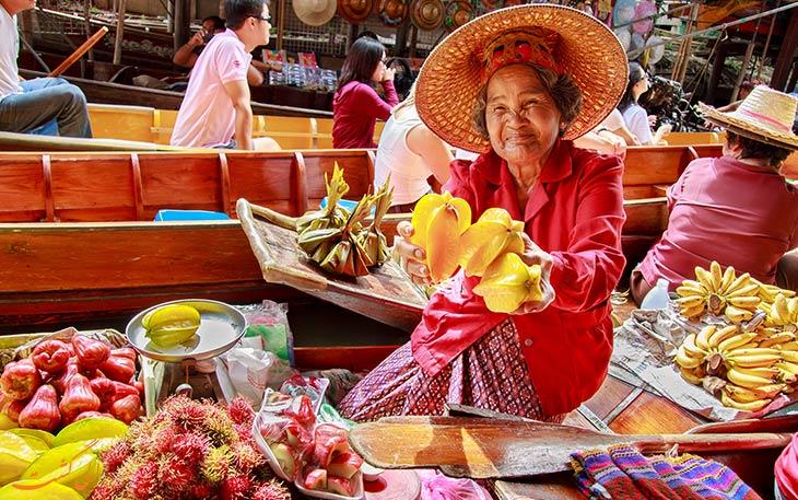 چانه زنی، یکی از نکات سفر به تایلند