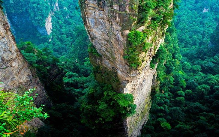 عجیب ترین کوهستان دنیا
