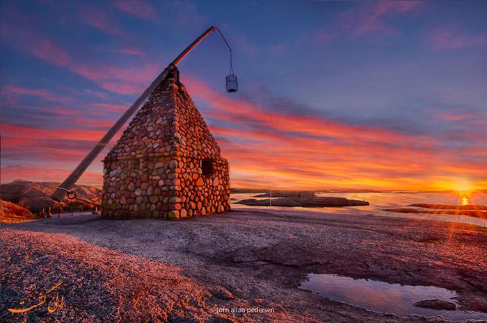 کلبه سنگی نروژ Tjome