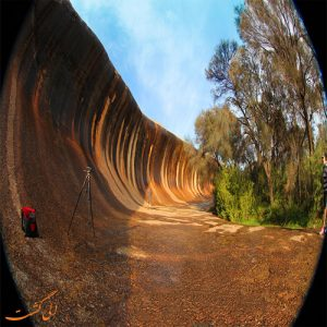 صخره های موجی هایدن استرالیا