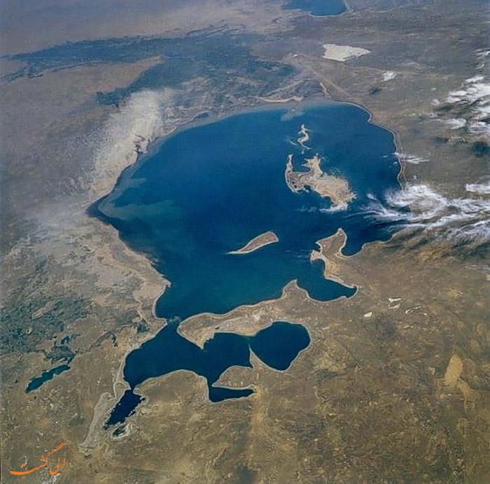 دریای آرال در گذشته