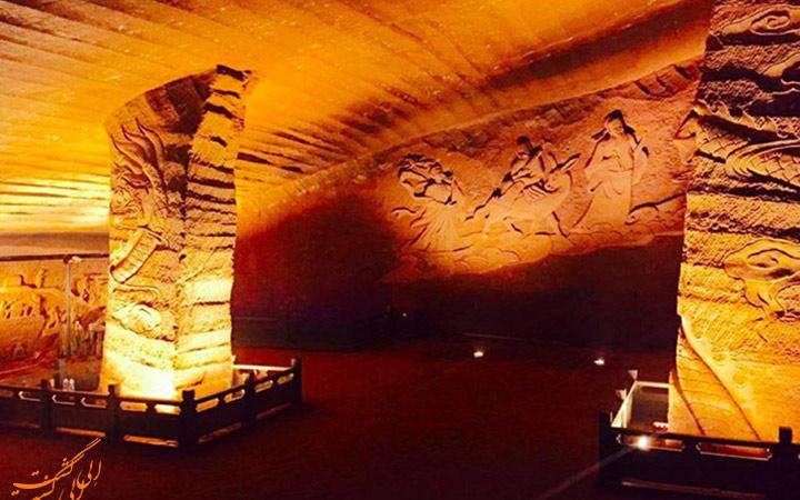 غارهای اسرار آمیز لانگیو