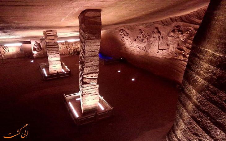 حفاری های غارهای لانگیو