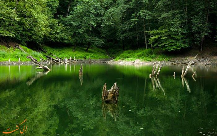 دریاچه چورت در مازندران