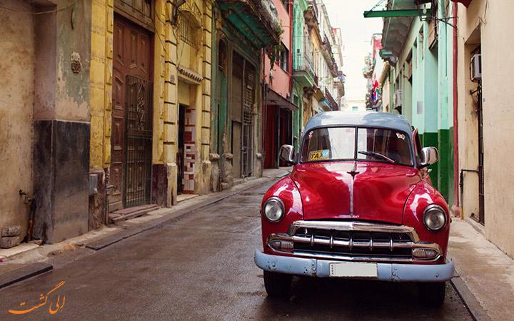 کشور زیبای کوبا