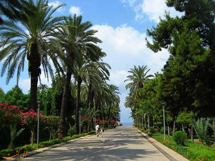 ورودی پارک کارالیوگلوی آنتالیا