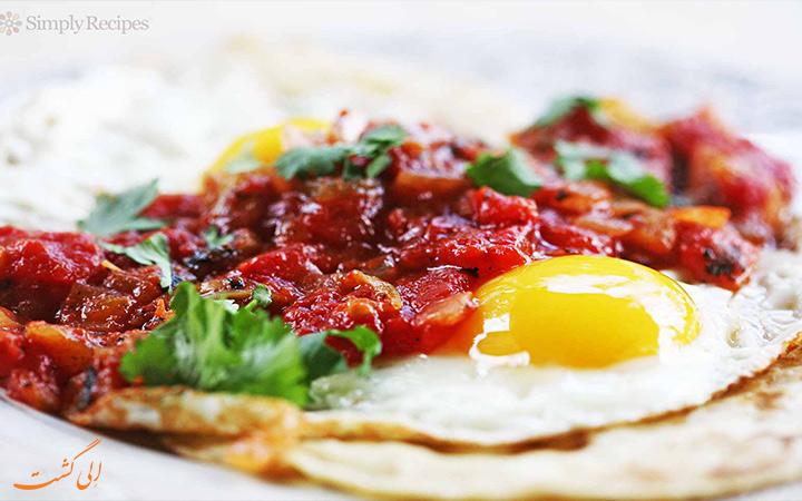 غذای Huevos habaneros