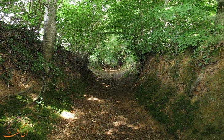 مسیرهای تونلی