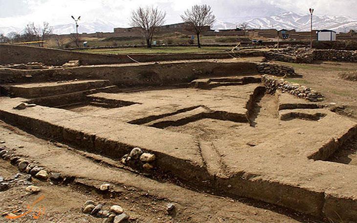 شهر تاریخی هگمتانه در همدان