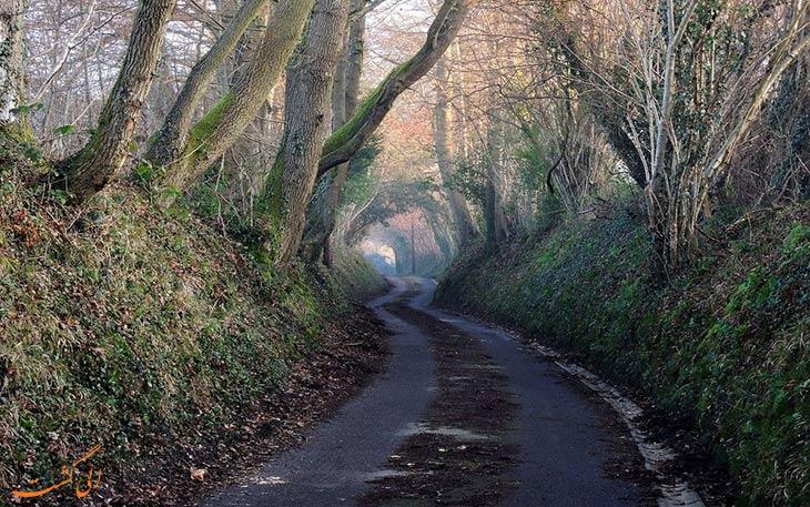 مسیرهای باستانی تونلی