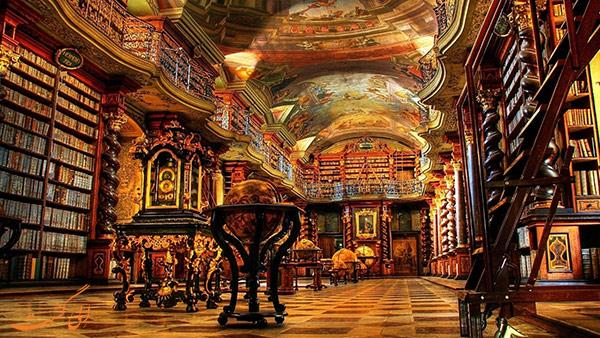 کتابخانه کلمنتیوم در پراگ