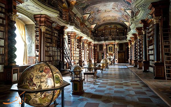 کلمنتیوم زیباترین کتابخانه جهان