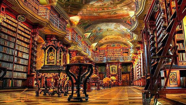 کتابخانه کلمنتیوم در چک