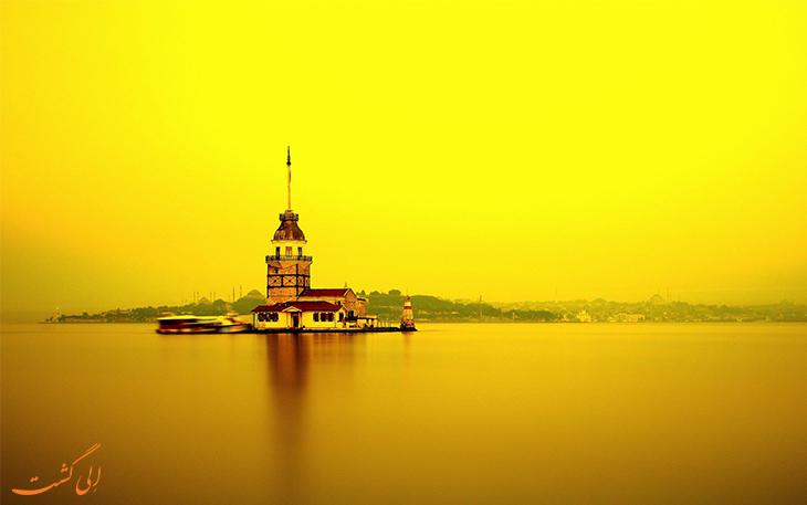 عکسی از برج دختر