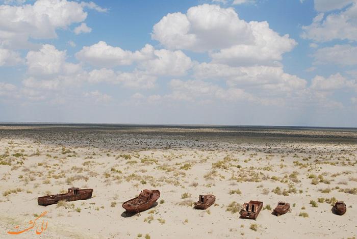 قبرستان کشتی ها آرال