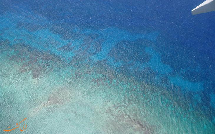 رنگ دریا و اقیانوس