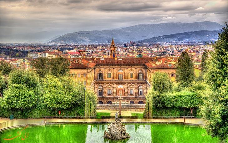 قصر زیبای پیتی در فلورانس