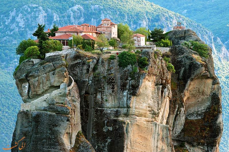 بنای مذهبی متئورا در یونان