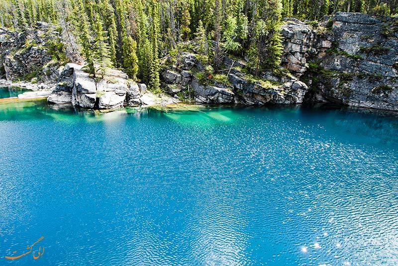 دریاچه نعل اسبی کانادا