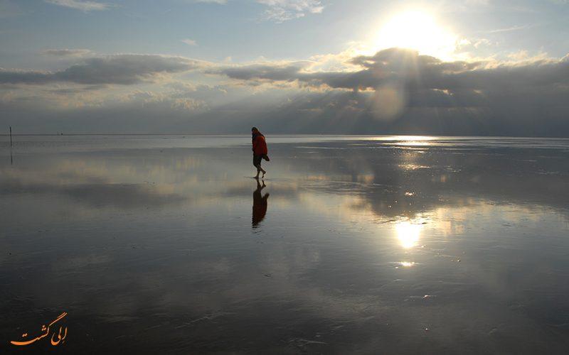 عکس دریای وادن