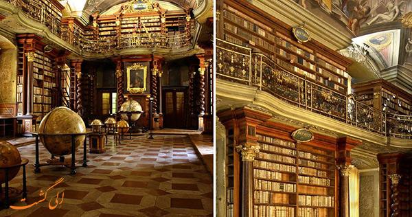 نمایی از زیباترین کتابخانه جهان