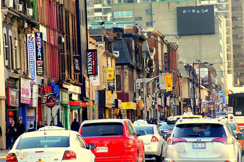 خیابان Yonge در تورنتو