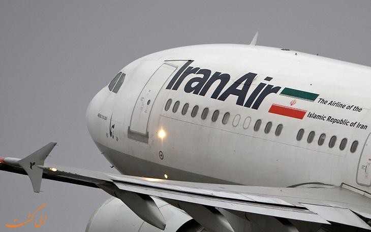مسیرهای پروازی ایران ایر